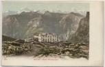 AK Gemmi Hotel Wildstrubel bei Leukerbad Wallis Schweiz 1910
