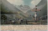 AK Flüeli-Ranft Am Wege nach Melchthal Obwalden Schweiz 1902