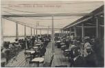 AK Lido Venezia Venedig Terrazza del Grande Stabilimento Bagni viele Menschen Venetien Italien 1900