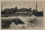 AK Narva Kosk Fabrik am Wasserfall Estland 1920