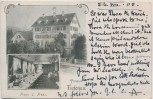 AK Zürich Pension Tiefenau Steinwiesstrasse Schweiz 1902 RAR
