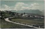 AK Ronzone Val di Non Ortsansicht mit Straße Trentino-Südtirol Italien 1905 RAR