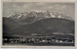 AK Neunkirchen Ortsansicht mit Schneeberg Niederösterreich Österreich 1941