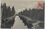 AK Joensuu Haapavirta canal Finnland Suomi 1920 RAR