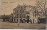 AK Höganäs Hamntorget Blick auf Gebäude Schweden Sverige 1919