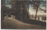 AK Emden Wallpartie mit Brücke 1915