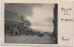 AK Foto Hellmonsödt Ortsansicht im Winter Oberösterreich Österreich 1940
