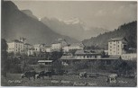 AK Thusis Bahnhof mit Hotel Post Rhätia Albulu Graubünden Schweiz 1910 RAR