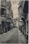 AK Klausen (Südtirol) Blick in Hauptstraße Italien 1910