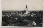 AK Foto Hörsching Ortsansicht mit Kirche Oberösterreich Österreich 1940