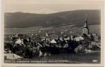 AK Foto Baden bei Wien Blick vom Badnerberg beim Rudolfshof gegen Schneeberg Niederösterreich Österreich 1940
