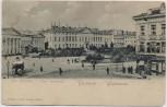 AK Warszawa Warschau Place Krasinski Polen 1910 RAR