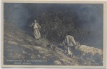 AK Foto Ruthenenkinder in den Karpaten Schafe weidend Ukraine 1915