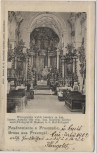 AK Gruss aus Przemyśl Kirche Innenansicht Polen 1902