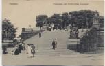 AK Dresden Freitreppe der Brühl'schen Terrasse mit Menschen 1910