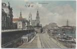 AK Dresden Landungsplatz 1909