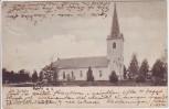 AK Söderhamn Bergvik Mo kyrka Kirche Hälsingland Schweden 1903