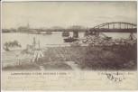 AK Mora Landsvägsbro under Byggnad Dalarna Schweden 1903