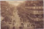 AK Paris Boulevard Montmartre Geschäfte Menschen Frankreich 1910