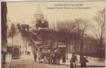 AK Paris Square Saint-Pierre et le Funiculaire Menschen Pferdekutsche Frankreich 1910
