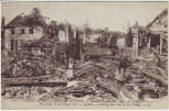 AK Belleau Grande Guerre Ruinen Menschen 1.WK Meurthe-et-Moselle Frankreich 1915