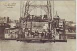 AK Rouen Pont Transbordeur La Nacelle mit Menschen Seine-Maritime Frankreich 1910