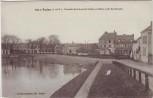 AK Redon Ortsansicht mit Kanal Ille-et-Vilaine Frankreich 1920