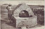 AK Guérande Fontaine Gallo Romaine a Clis Loire-Atlantique Frankreich 1910
