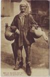 AK Mann Bauer mit Gänsen im Korb Tracht Frankreich 1910
