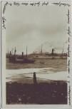 AK Foto Spitzbergen Virgo Havn Schiffe Stempel Pakisen Norwegen 1924 RAR