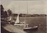 AK Foto Talsperre Pirk viele Boote bei Oelsnitz Vogtland 1961