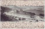 AK Das Ruhrtal bei Werden vom Pastoratsberg aus gesehen Essen 1903