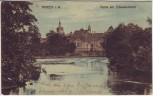 AK Minden in Westfalen Partie am Schwanenteich 1911