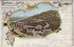 AK Litho Gruss aus Kettwig an der Ruhr Stadthallen zum Luftigen Essen 1903 RAR