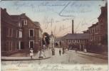AK Lennep Cölnerstrasse Kölnerstrasse mit Menschen Remscheid 1908
