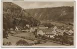 AK Foto Solbad Karlshafen a. d. Weser mit Diemelbrücke 1935