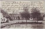 AK Kleinleipzig bei Raguhn Jeßnitz Gasthof Ferdinand Jungmann 1910 RAR