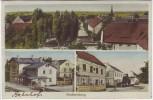 AK Mehrbild Großsteinberg Bahnhof Ortsansicht Parthenstein 1937 RAR