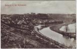 AK Nebra an der Unstrut bei Hochwasser Ortsansicht 1908