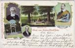 AK Lützen Gruß vom Gustav-Adolf-Feste Schwedenstein 1903