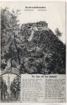 AK Oybin böhmische sächsische Hochwaldbauden mit der Sage vom Hochwald 1921