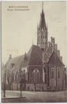 AK Berlin Lichtenberg Wartenbergstrasse Kirche 1920 RAR