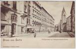 AK Gruss aus Berlin Mitte Philippstrasse mit Philippus-Apostel-Kirche 1910 RAR