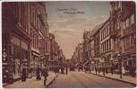 AK Hamburg Harburg an der Elbe Lüneburger Straße viele Menschen 1910