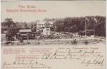 AK Gruss aus Ostseebad Timmendorfer Strand Villa Frieda mit Gedicht 1903