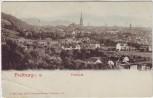 AK Freiburg im Breisgau Blick vom Hebsack auf die Stadt 1910