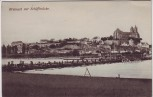 AK Breisach am Rhein Ortsansicht mit Schiffbrücke 1910