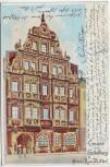 AK Litho Gruss aus Heidelberg Hotel Zum Ritter 1902