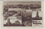 AK Mehrbild Gruss vom Feldberg im Schwarzwald 1925