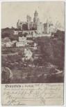 AK Braunfels Blick vom Hoffeld auf Schloß 1903